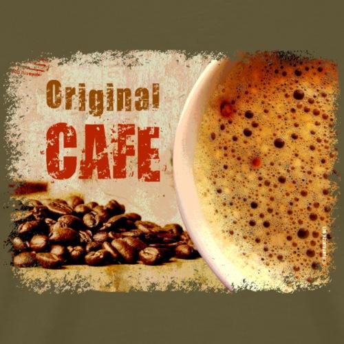 06-40 Original Cafe series - Miesten premium t-paita