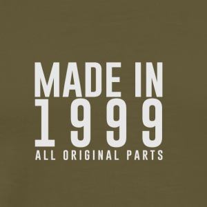 MADE IN 1999 - GEBOORTEJAAR - Mannen Premium T-shirt