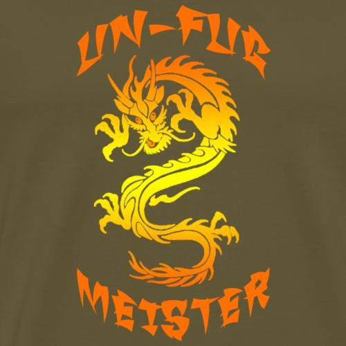 UN-FUG MEISTER fire - Männer Premium T-Shirt