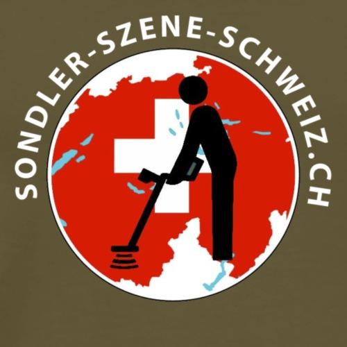 Sondler Szene Schweiz Rund - Männer Premium T-Shirt