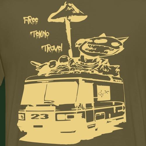 free tekno Travel 23 - Männer Premium T-Shirt