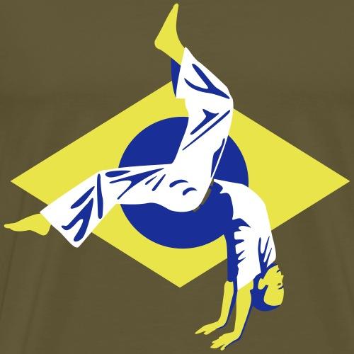 Capoeira Brésil - T-shirt Premium Homme