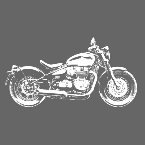 Bobber - hvid - Herre premium T-shirt