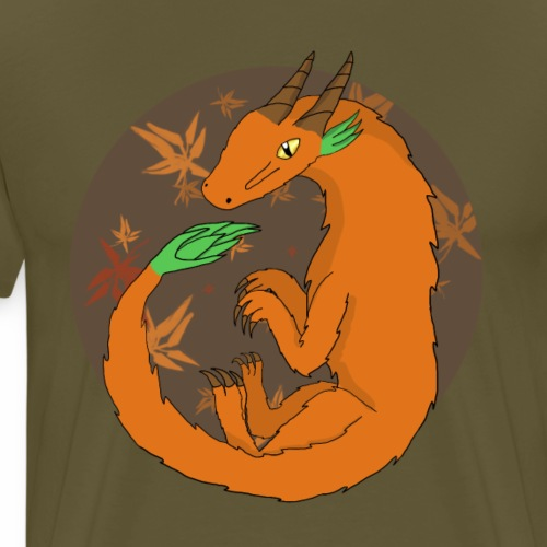 Autumn Dragon - Men's Premium T-Shirt