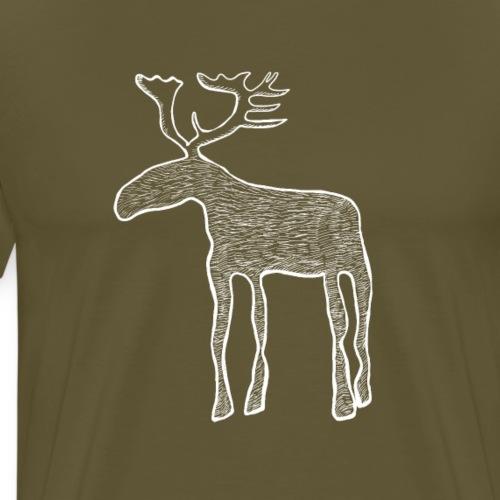 Renne scandinave - T-shirt Premium Homme