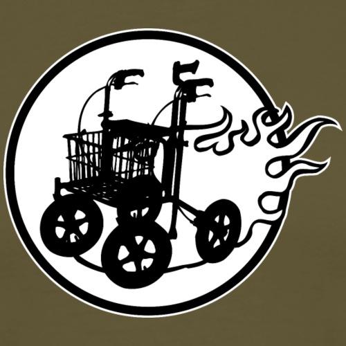 Rollator - Premium-T-shirt herr