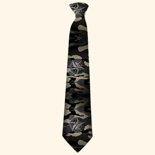Krawatte 127 mit Goldnadel - Männer Premium T-Shirt