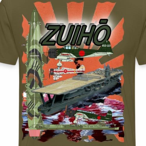 Zuiho Flugzeugträger - Männer Premium T-Shirt