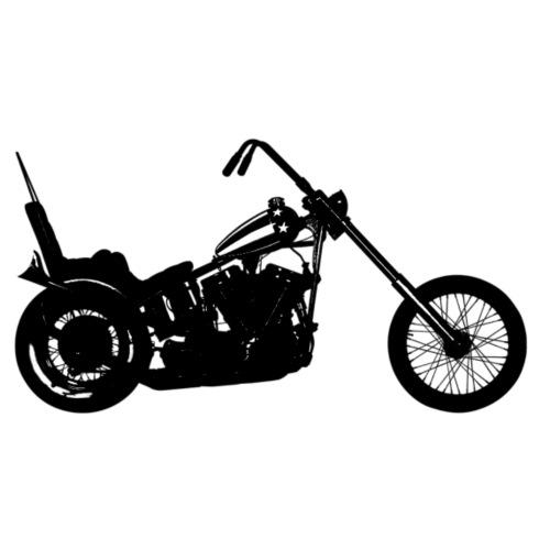 Chopper - sort - Herre premium T-shirt