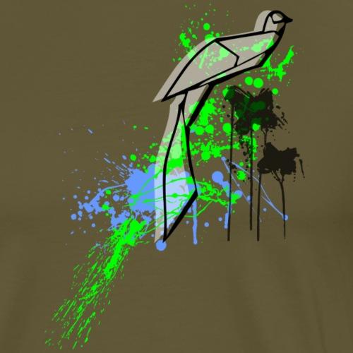 vogel2 - Männer Premium T-Shirt