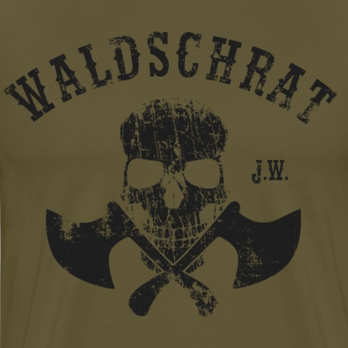 Waldschrat Skull Black
