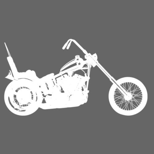 Chopper - hvid - Herre premium T-shirt