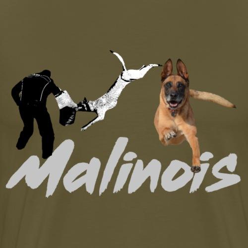 Malinois,Hundesport,Diensthund,Mali,Schäferhund - Männer Premium T-Shirt