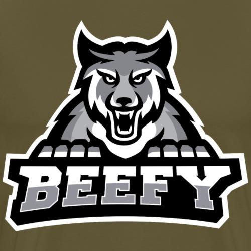 Beefy Wolf png - Men's Premium T-Shirt