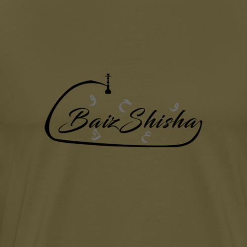 Arabic Schwarz Design - Männer Premium T-Shirt