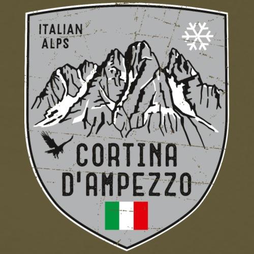 Cortina d Ampezzo Italien Wappen - Men's Premium T-Shirt