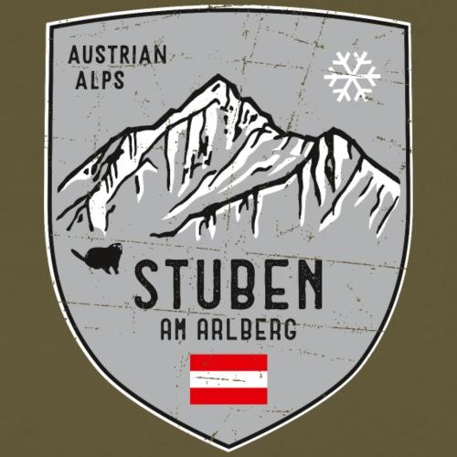 Stuben Österreich Wappen - Männer Premium T-Shirt