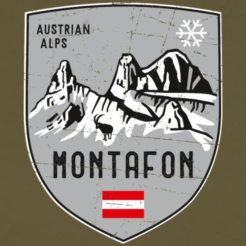 Montafon Österreich Wappen - Männer Premium T-Shirt