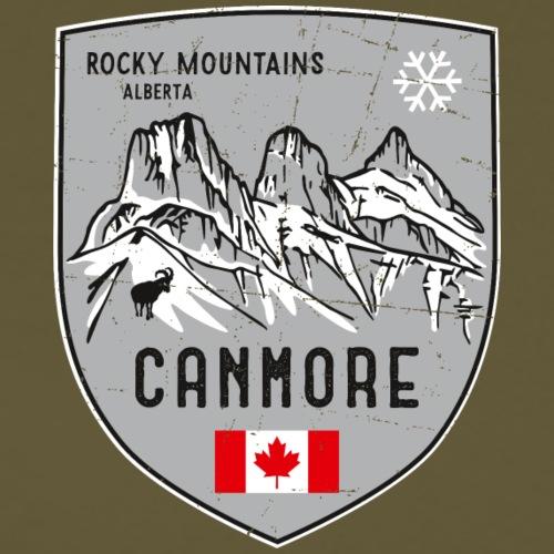 Canmore Kanada Wappen - Männer Premium T-Shirt