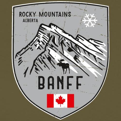 Banff Kanada Wappen - Männer Premium T-Shirt