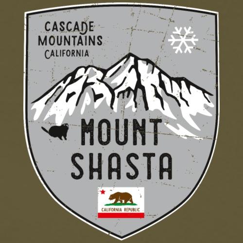 Shasta USA Wappen - Männer Premium T-Shirt