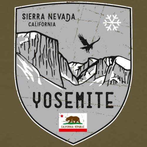 Yosemite USA Wappen - Männer Premium T-Shirt