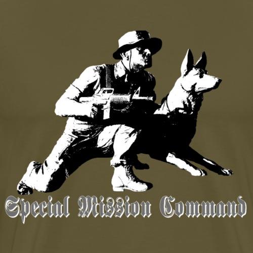 Hund,Hunde,Hundesport,Diensthund,Armee,Polizeihund - Männer Premium T-Shirt