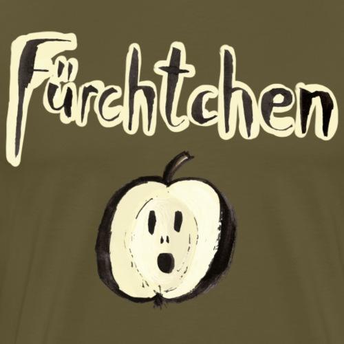 Fürchtchen - Apfel mit Angst - Männer Premium T-Shirt