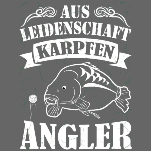 Karpfen Angler - Männer Premium T-Shirt