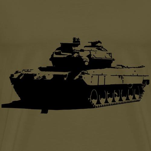 Leopard 2 Kampfpanzer - Stridsvagn 122 - Premium-T-shirt herr