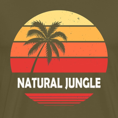 natural sunset - T-shirt Premium Homme