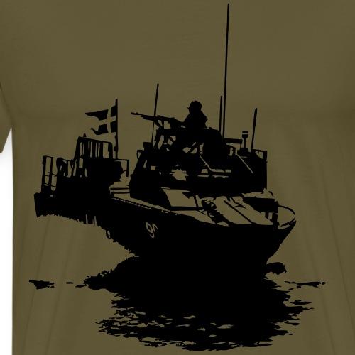 Combat Boat 90 - Stridsbåt 90 - Premium-T-shirt herr