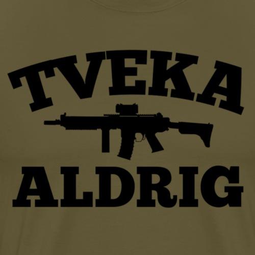 TVEKA - Premium-T-shirt herr
