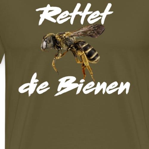 Bienen Retten,Tierschutz,Naturschutz,Umweltschutz - Männer Premium T-Shirt