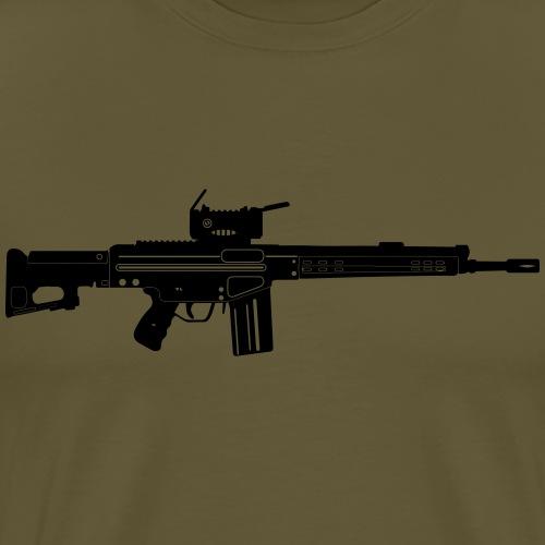 HK Gewehr 3 - Automatkarbin 4C - Premium-T-shirt herr