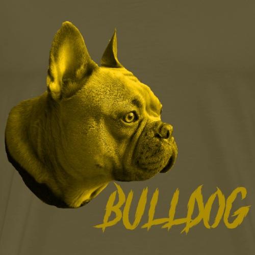 Bulldogge,Französische Bulldogge,Hundekopf,Dogge - Männer Premium T-Shirt