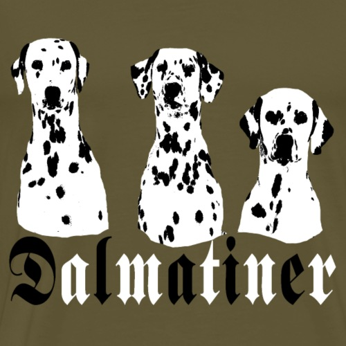 Dalmatiner Hunde 3 - Männer Premium T-Shirt