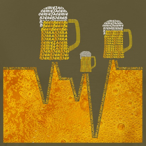 Cerveza Internacional V3 Color V3 - Camiseta premium hombre