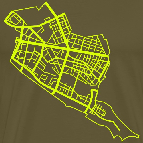 Friedrichshain Berlin - Männer Premium T-Shirt