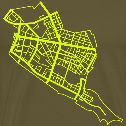 Friedrichshain Berlin - T-shirt Premium Homme