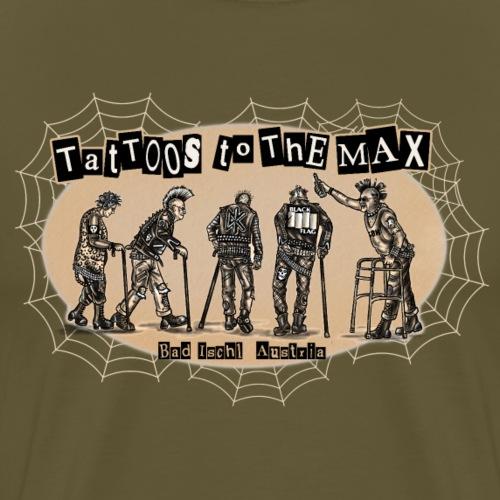 Tattos to the Max - Senior-Punx - Männer Premium T-Shirt
