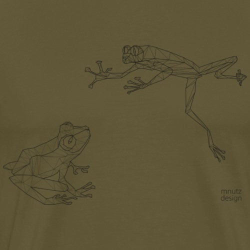 ORIGAMI - Frösche - Männer Premium T-Shirt