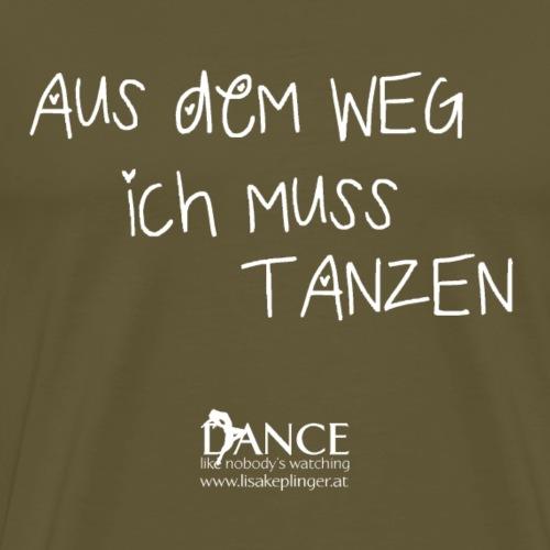Dance und Fitness - Männer Premium T-Shirt