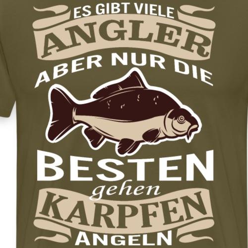 Besten gehen Karpfen Angeln - Männer Premium T-Shirt