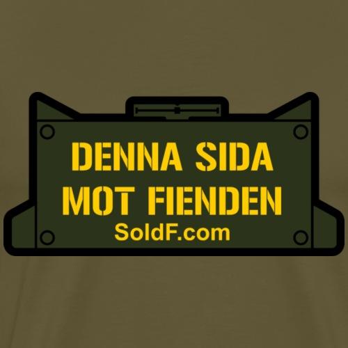 DENNA SIDA MOT FIENDEN - Mina - Premium-T-shirt herr