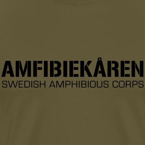 Amfibiekåren -Swedish Amphibious Corps - Premium-T-shirt herr
