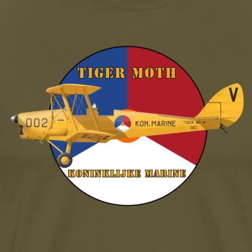 Tiger Moth Kon Marine - Men's Premium T-Shirt