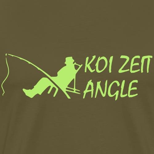 KoiZeit - Angle - Männer Premium T-Shirt