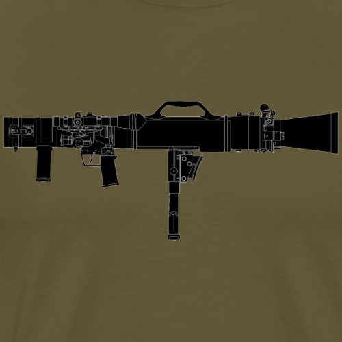 Carl-Gustaf M3 - Granatgevär 8,4 cm m86 - Premium-T-shirt herr