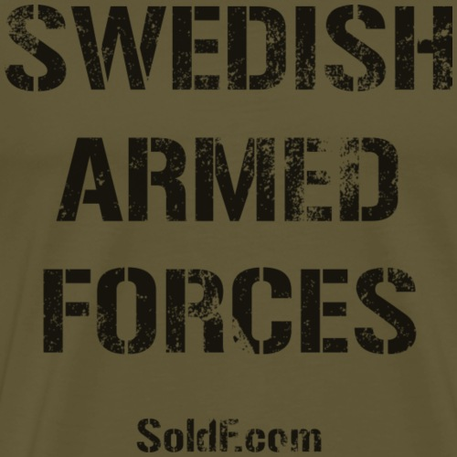 Swedish Armed Forces - Premium-T-shirt herr